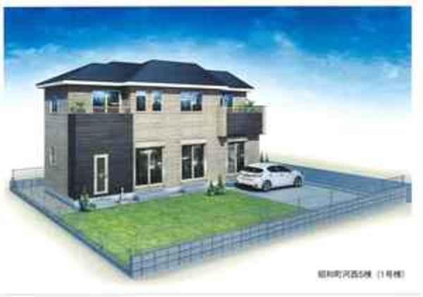 人気の山梨県昭和町常永地区新築一戸建住宅 ㈱住建