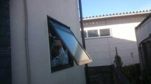 浴室窓改修工事 !山梨県注文住宅
