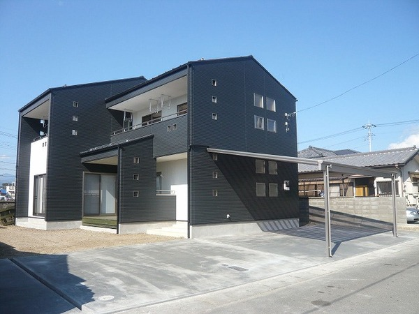 甲斐市 K様邸 デザイン住宅 山梨県注文住宅 住建のサムネイル