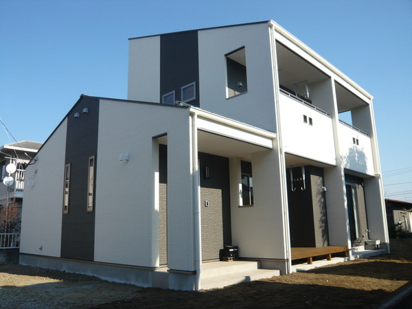 中央市T様邸 オール電化 デザイン住宅 山梨県注文住宅 住建のサムネイル