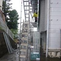 双葉中学校体育館雪止め改修工事のサムネイル