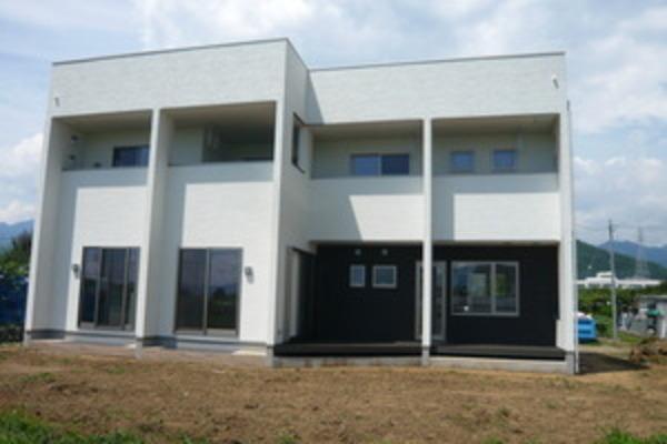 甲州市塩山 店舗併用住宅新築工事