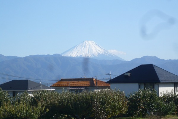 会社から見る富士山