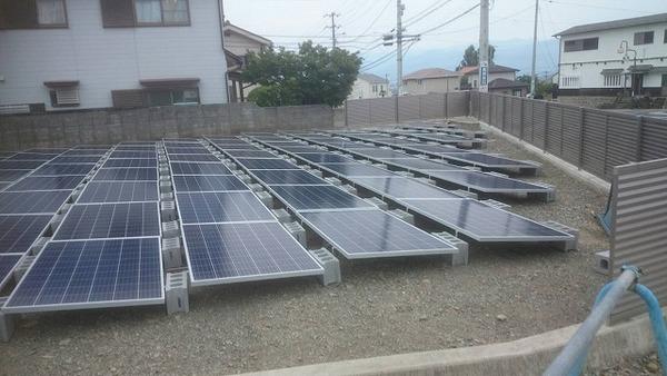 産業用太陽光発電16KW 住建 第3発電所
