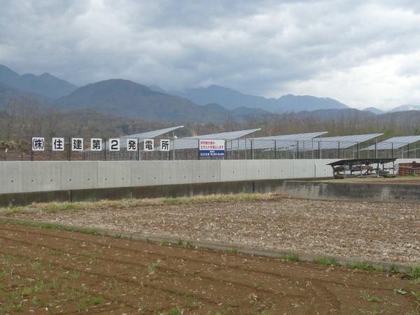 産業用太陽光発電58KW 住建 第2発電所