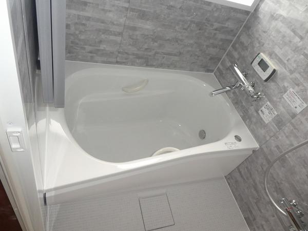 ユニットバスへの浴室改修工事