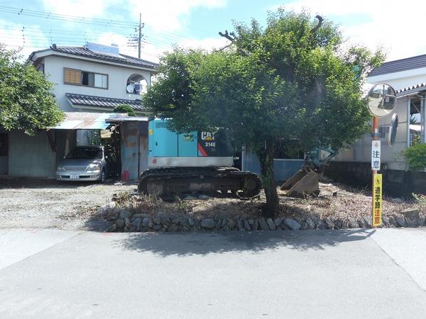 御坂町栗合 木造平屋建て新築工事