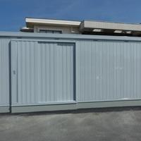 甲斐市福祉避難所物置設置工事のサムネイル